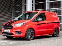 Ford Transit Courier рестайлинг 2018, цельнометаллический фургон, 1 поколение
