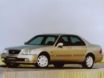 Honda Legend рестайлинг 1998, седан, 3 поколение