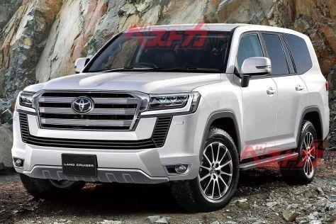 Новая Toyota Land Cruiser: свежая информация о дате дебюта