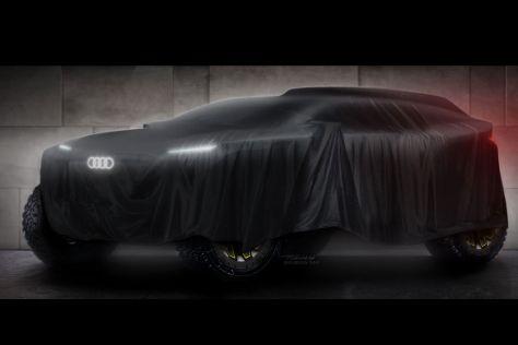 Audi будет участвовать в Дакаре на новом гибридном внедорожнике
