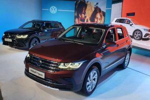 Volkswagen показал обновленный Tiguan для России