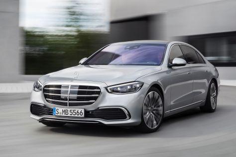 В России начали принимать заказы на новый Mercedes-Benz S-Class: от 11 120 000 рублей