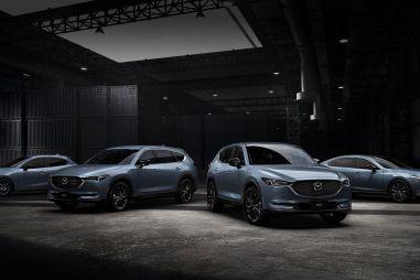 Mazda представила «черную» спецсерию моделей CX-5, CX-8, Mazda 2 и Mazda 6