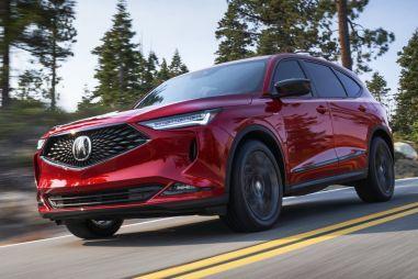 Honda презентовала кроссовер Acura MDX нового поколения