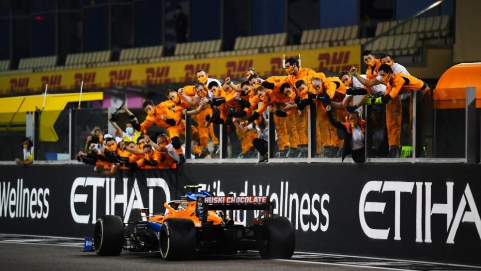 Спорт. ГП Абу-Даби подвел черту сумасшедшему сезону-2020
