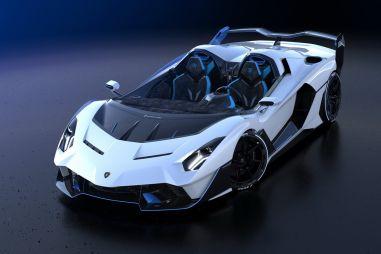 Уникальный родстер Lamborghini SC20 лишен лобового стекла и серийной жизни