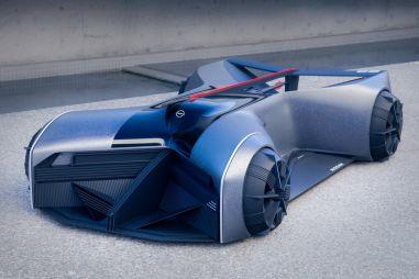 Nissan показал, как может выглядеть GT-R в 2050 году