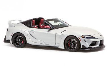 Toyota представила GR Supra в кузове тарга. Но на конвейер она вряд ли попадет