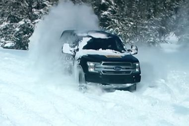 Ford показал видео с тестов электрической версии пикапа F-150