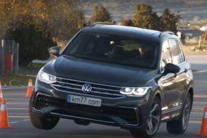 Volkswagen Tiguan удивил на «лосином тесте»: рулится лучше, чем Golf (ВИДЕО)