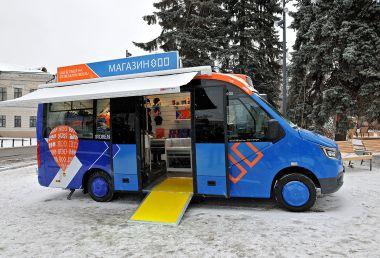 На базе ГАЗель City появилась новая модель мобильного магазина