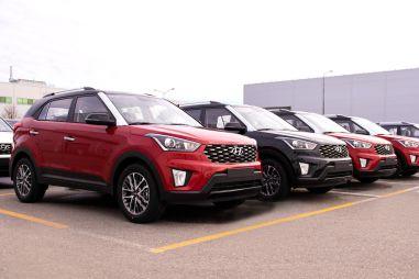 Российский завод Hyundai выпустил в 2020 году 219 тысяч машин