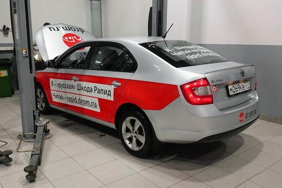 В гостях у «дяди Васи». Volkswagen Polo и Skoda Rapid: мысли гаражного механика