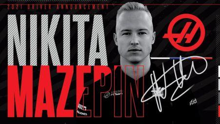 Официально объявлено о многолетнем контракте команды HAAS с Никитой Мазепиным