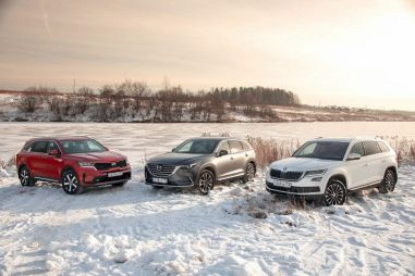 Новый Kia Sorento и Skoda Kodiaq оставляют мало шансов Mazda CX-9
