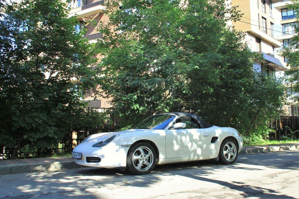 Обзор и тест-драйв Porsche Boxster первого поколения. Манифест петролхеда*24