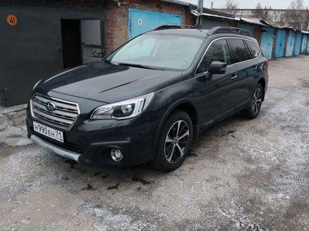 Subaru Outback 2015 - отзыв владельца