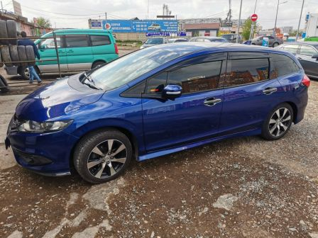 Honda Jade 2015 - отзыв владельца