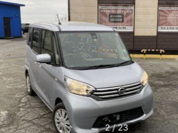 Nissan DAYZ Roox 2015 - отзыв владельца