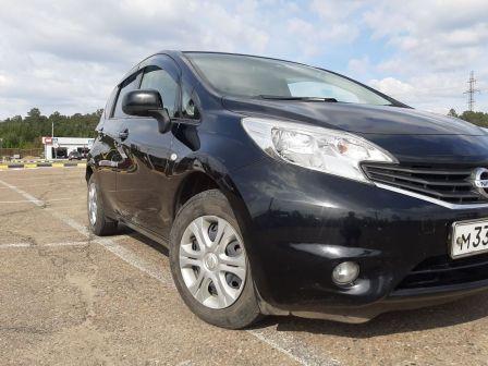 Nissan Note 2014 - отзыв владельца