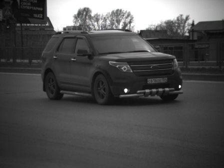 Ford Explorer 2012 - отзыв владельца