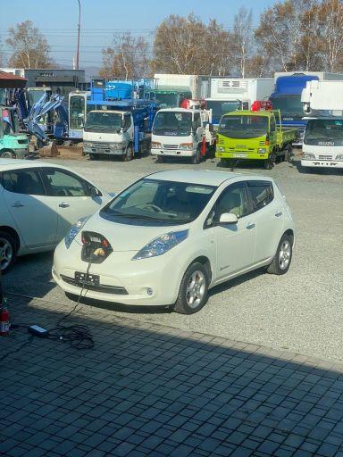 Nissan Leaf 2012 отзыв автора | Дата публикации 05.12.2020.