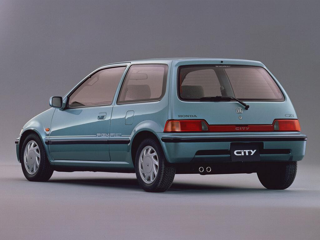 Honda City рестайлинг 1988, 1989, 1990, 1991, 1992, хэтчбек 3 дв., 2 поколение, GA2 технические ...