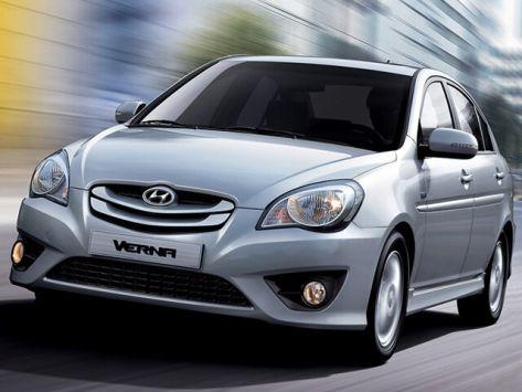 Hyundai Verna (MC) 04.2009 - 04.2010