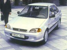 Suzuki Swift 2-й рестайлинг, 2 поколение, 03.2000 - 02.2004, Седан