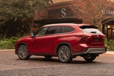 Toyota запатентовала имя «Grand Highlander»