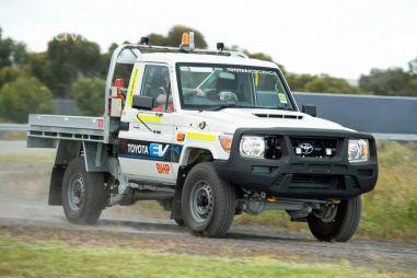 Land Cruiser 70 специально для Австралии переделали в электромобиль
