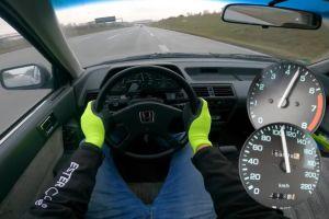 ВИДЕО: Honda Accord 1985 года с пробегом 600 000 км смогла разогнаться до паспортной максималки