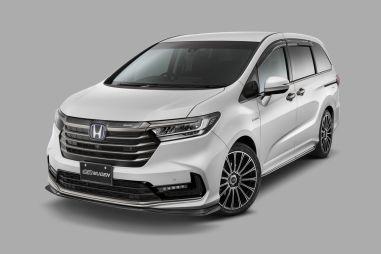 Mugen выпустила обвес для обновленного минивэна Honda Odyssey