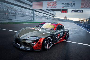Toyota показала 1015-сильную Supra для российского дрифта