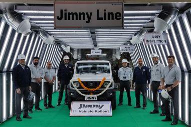 Suzuki Jimny теперь производят не только в Японии