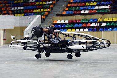 В России тестируют летающее такси грузоподъемностью 300 кг