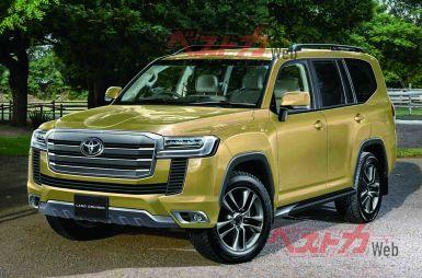 Стало известно, когда можно будет заказать новый Toyota Land Cruiser 300