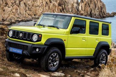 Suzuki сделает пятидверную версию Jimny