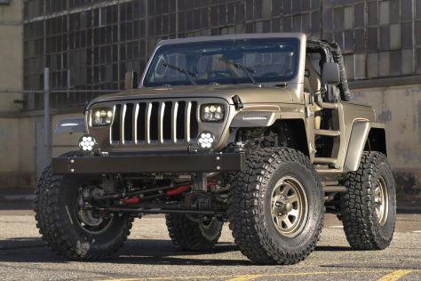 Американцы замаскировали Jeep Wrangler 2020 года под Wrangler 1989-го