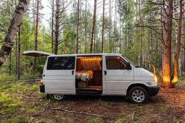 Крым по диким местам на автодоме