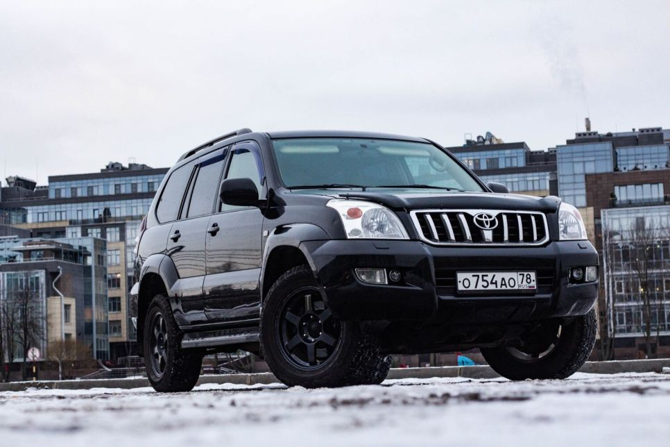 Народное ретро. Toyota Land Cruiser Prado 120: 15 лет — не срок