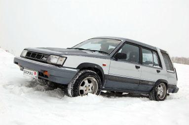 Народное ретро. Toyota Sprinter Carib AL25 1987 года. Так вот ты какой, северный олень!