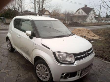 Suzuki Ignis 2016 - отзыв владельца
