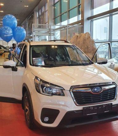 Subaru Forester 2020 отзыв автора | Дата публикации 24.01.2021.