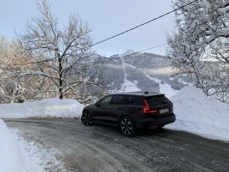 Volvo V60 2020 - отзыв владельца