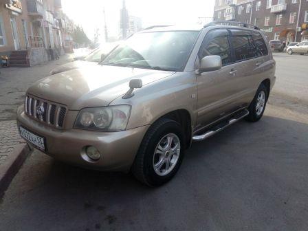 Toyota Kluger V 2001 - отзыв владельца