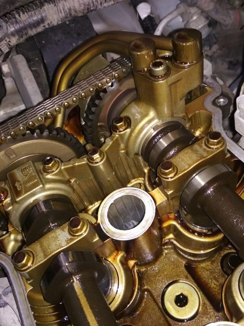 двигатель не засранный.  замена масла регулярно 6-7 тыс км.
