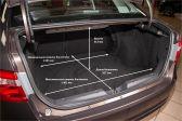 Лада Веста 201506 - Размеры багажника