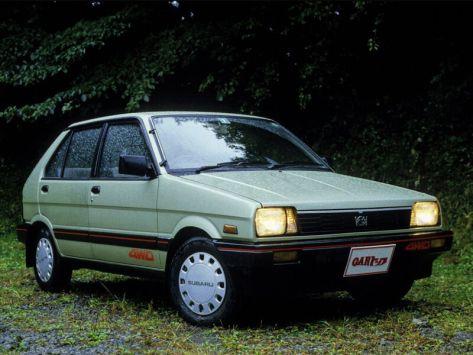 Subaru Justy (KA,KD/J10) 02.1984 - 10.1988