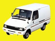 Toyota Deliboy 1989, цельнометаллический фургон, 1 поколение